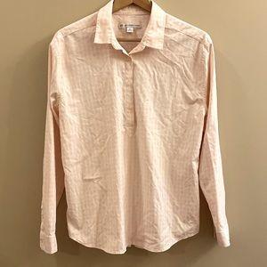Southern Tides pink stripped button shirt